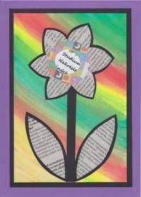 Květiny – koláž