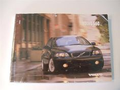 2002 Volvo S60 Owners Manual Book