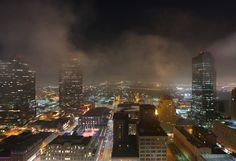 Fort Worth this morning by Brian Luenser.