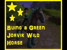 Star Stable: Buying Green Jorvik Wild Horse