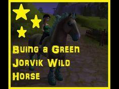 Star Stable: Buying Green Jorvik Wild Horse