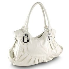 Belted Hobo Handbag White $30.00 http://www.amazon.com/gp/product/B0040UEBMO/ref=as_li_ss_tl?ie=UTF8=1789=390957=B0040UEBMO=as2=ddsgiftshop32-20 find more items like this at www.ddsgiftshop.com visit and like us on facebook here www.facebook.com/pages/DDs-Gift-Shop/113955198649056