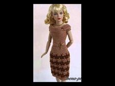 Crochet - Barbie's Jacket - YouTube