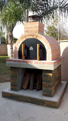 3 Generations of Sybesma's built this beautiful oven on a monolithic pizza oven base and did and an excellent job!