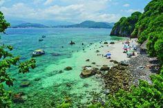 """Rincón de Guayabitos (isla coral), Nayarit, México. También a las cercanías se pueden disfrutar de las playas vírgenes """"playa del beso"""" y """"playa del toro"""""""
