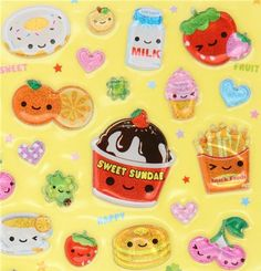 My sister world: Kawaii Foods