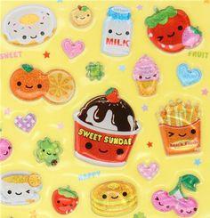 My sister world: Kawaii Foods