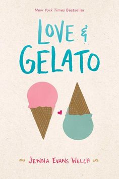 Love & Gelato, by Jenna Evans Welch (released May After her mother dies, Lina travels to Italy where she discovers her mother's journal and sets off on an adventure to unearth her mother's secrets. Ya Books, Good Books, Books To Read, Free Books, Comic Books, Ravenclaw, Love And Gelato, Summer Books, Nora Roberts