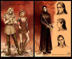 Geralt's team - Regis by ellaine on DeviantArt | inspired by Andrzej Sapkowski, The Witcher