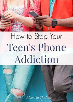 The struggle with teen phone addiction is real. Read about these great tips to help your teen overcome their internet addiction. Teen parenting can be hard but these tips can help you balance their technology use with other activities! Try these tips for how to help your teen not to become addicted to the internet today! #parenting #motherhood# tips #parentingtips #teens #teenagers