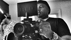 Director Terence Gordon on set
