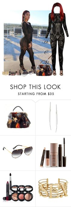 """Scandalous."" by oreocaker ❤ liked on Polyvore featuring Illy, ABS by Allen Schwartz, Dita, Laura Mercier, Laura Geller, Dolce&Gabbana and French Connection"