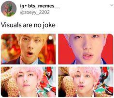 Memes kpop amor ideas for 2019 Vkook Memes, Bts Memes, Funny Memes, Jokes, Seokjin, Namjoon, Jimin, Bts Bangtan Boy, Foto Bts