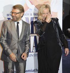 Alternative photo's of Agnetha (with Bjorn Ulvaeus) at Mamma Mia!