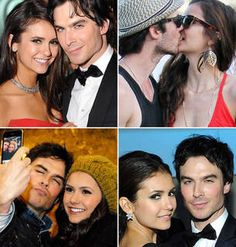 Hollywood's Hottest Couple! Ian Somerhalder and Nina Dobrev's Cutest Photos of All Time