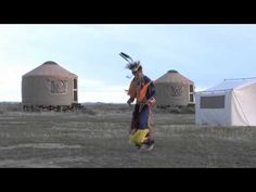 Various native American dances. Communal dance at end