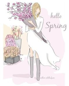 "Hello Spring! (""Rose Hill Design Hello Spring."")"