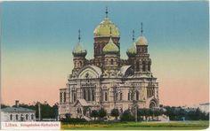 Kriegshaen Khatedrale Libau 1916