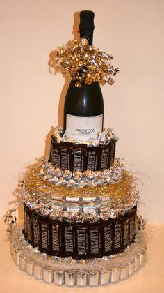 Items similar to Chocolate Candy/ Wine Cake on Etsy - Items similar to Chocolate Candy/ Wine Cake on Etsy Chocolate Candy/ Wine Cake by CoveredInCandy on Etsy 21st Birthday, Birthday Gifts, Birthday Parties, Golden Birthday, Birthday Ideas, Birthday Cake, Candy Arrangements, Bar A Bonbon, Money Cake