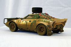 Stratos;  the tire on the top reeks of being just a nice shot of a plastic model car