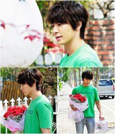 Super Junior's Donghae in Panda and Hedgehog