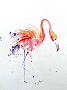 Fearless Friday, Flaming Flamingo | The Painted Apron