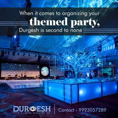 Creativity with perfection is equal to great event.  #AwesomeLightsDecoration