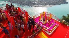 Rishikesh is a holy place where tying the knot on the banks of the holy River Ganga, or may say in a resort give special feeling to your heart #shlokaevents #destinationwedding