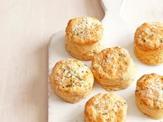 Lemon-Thyme Biscuits: Liven up this simple biscuit batter by adding finely grated lemon zest. The bright citrus flavor complements the earthiness of the thyme.