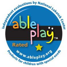 Many of Swing-N-Slide's play products have been rated for children with special needs.  Able Play is a valued partner in our efforts to provide play for all children!  http://www.swing-n-slide.com/search/AblePlay.aspx?source=pin072913