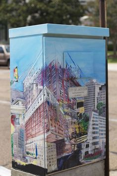 Traffic Box Art, Jackson, Mississippi  Photo courtesy Jackson Free Press