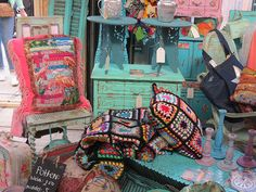 Prachtige Ibiza Style accessoires en meubels van Ma Maison...