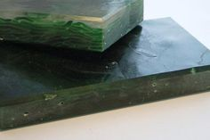 Bio-Glass countertops, 100% recycled glass. by Materia.