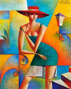 Oil Painting Abstract Art Cubism On Canvas Modern Art Impressionism Woman Art Work Home Decor Living Room Colorful Painting Remake Kurasov Cubist Art, Abstract Art, Art Et Illustration, Inspiration Art, Pablo Picasso, Art Design, Oeuvre D'art, Female Art, Painting & Drawing