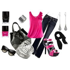 Girls Night Out, created by ljjenness on Polyvore
