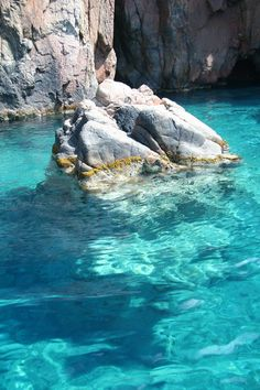 Piana Corsica; I swam here in 1994. Shame I didn't have a good camera then!