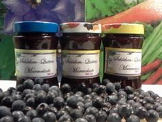 Schlehen-Quitten-Marmelade