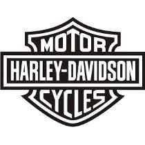 Adesivo Harley Davidson P/ Carro,laptop,moto,geladeira,etc