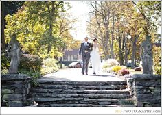 Sunken Gardens at Saint Clements Castle photos, Portland, CT: Portrait Location: Saint Clements Castle, Stephanie & Brendan Wedding Story - CT Modern Photojournalistic Style Wedding Photographers | Hubert and Alka Photographers | HK Photography
