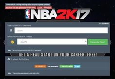 My NBA 2K17 Hack Tool Features Add Unlimited VC Credits Add Proxies Enabled Automatically Undetectable, Safe and Effective 100% Guaranteed Works for all Android mobile phones or tablets, iPhone, iPad, and other iOS 7 and up device  No ROOT or JAILBREAK needed. Updated daily to Daily updates to certify the working hack