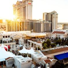 """""""When in Vegas, the sun may set but the good times are just getting started! Thanks for following my takeover today. Don't forget to follow @caesarspalace, tag a friend, and click the link in bio for a chance to win a 2-night stay here."""" -@thesamgraves #CaesarsPalace #Giveaway #LasVegasStrip #WeekendVibes #MemorialDayWeekend #Sunset #LasVegas #GoodTimes #Sundown Caesars Palace, Las Vegas Strip, Las Vegas Nevada, Stay The Night, Weekend Vibes, Memorial Day, Good Times, Don't Forget, Mansions"""