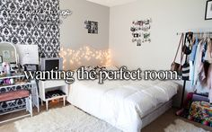 I think my room is pretty neat. I even decorate for the seasons to make it look festive!