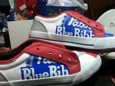 Pabst Blue Ribbon Shoes Are HipsterApproved