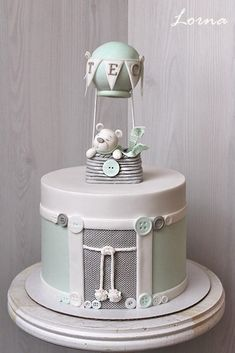 Christening cake.. by Lorna