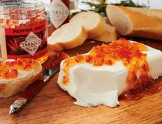 Tabasco Cream Cheese Spread #Recipe #HolidayEntertaining
