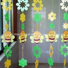 Фотография Kids Crafts, Preschool Crafts, Diy And Crafts, Arts And Crafts, Paper Crafts, Class Decoration, School Decorations, Diy Y Manualidades, Felt Baby