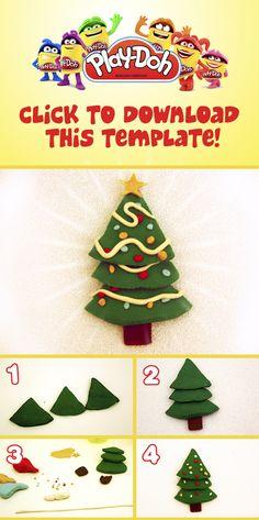 """Play-Doh """"Christmas Tree"""" Prototype."""