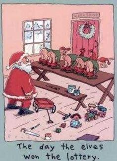 #Santa #humor