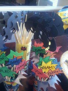 Batman birthday party decorations