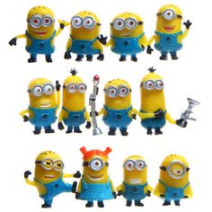 12pcs/lot 3.5-4.5cm The Minions Action Figure Toy, Despicable Me Figure Models, Anime Brinquedos, Mini Doll, Toys For Children #>=#>=#>=#>=#> Click on the pin to check out discount price, color, size, shipping, etc. Save and like it!